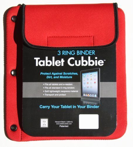 Tablet-Cubbie-Patented-3-Ring-Binder-Lightweight-Protective-Neoprene-Case-for-Ta