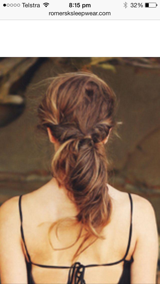 Rollie ponytail