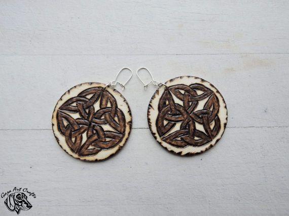 Celtic Knot Earrings - Celtic Earrings - Irish Earrings - Scottish Earrings - Celtic Jewelry