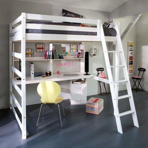 best 25 lit mezzanine ideas on pinterest loft bunk beds bunk bed fort and loft bed diy plans. Black Bedroom Furniture Sets. Home Design Ideas