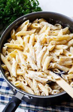 Cream Cheese Noodles make a super delicious side