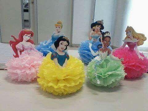 M s de 25 ideas fant sticas sobre centros de mesa princesa - Fiestas infantiles princesas disney ...