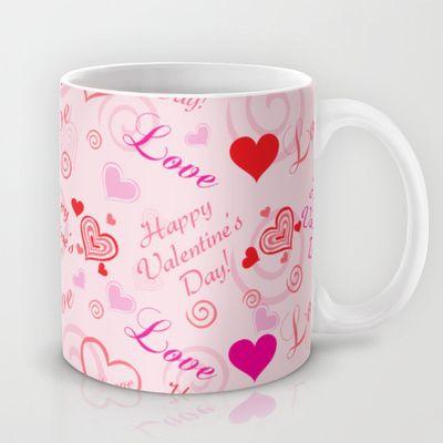 Happy Valentine's Day Mug by refreshdesign !
