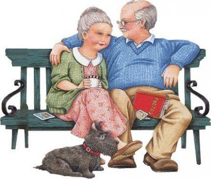 Дед, бабка и собака