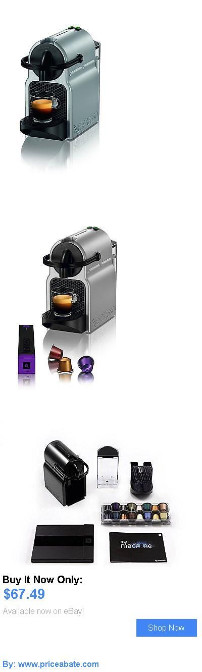 appliances: Nespresso D40-Us-Si-Ne Inissia Espresso Maker, Silver New Free Shipping BUY IT NOW ONLY: $67.49 #priceabateappliances OR #priceabate