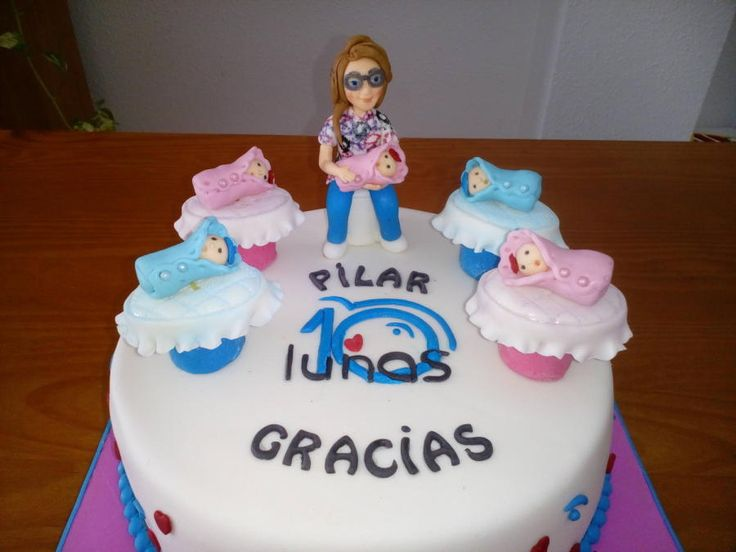 MIDWIFE FIGURES - Cake by Camelia