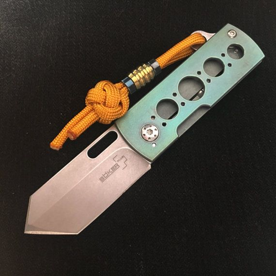 Edc Knife Mod. / Böker Pelicano por EdcApparatus en Etsy