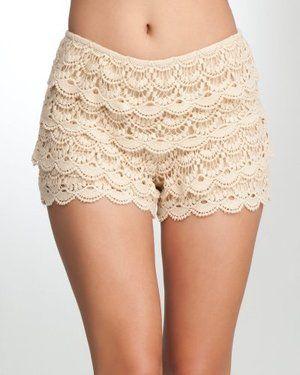 crochet shorts                                                                                                                                                                                 More