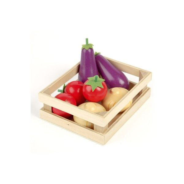 Tidlo Wooden Salad Basket By John Crane