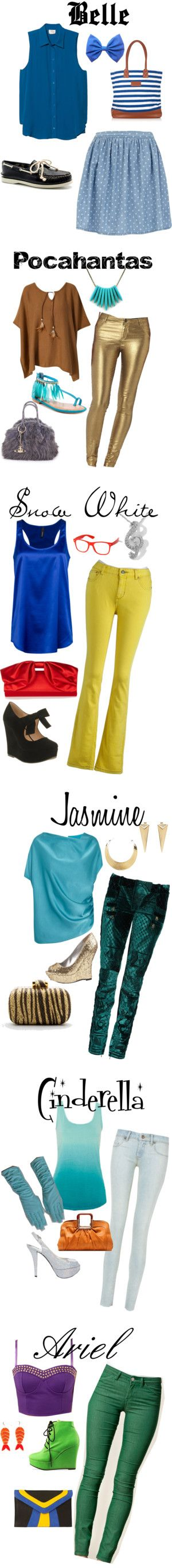 """Hipster Princesses"" by mrsnaomirosecleek on Polyvore"