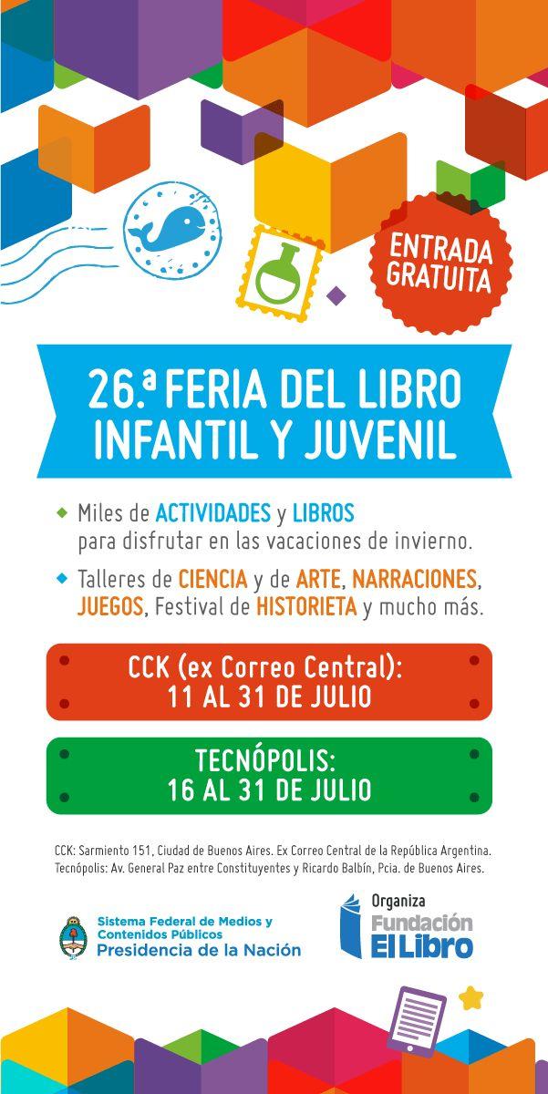 26.° Feria del Libro Infantil y Juvenil | LITERARIAS | Por Gabriela Mariel Arias