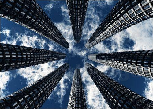 """Bild von Chris Engels - """"blick nach oben"""""""