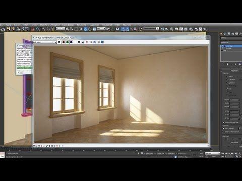 3DsMax VRay - Modeling, Lighting & Rendering - YouTube