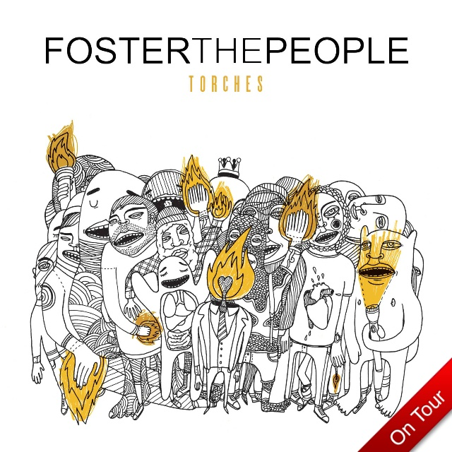 foster the people torches album art