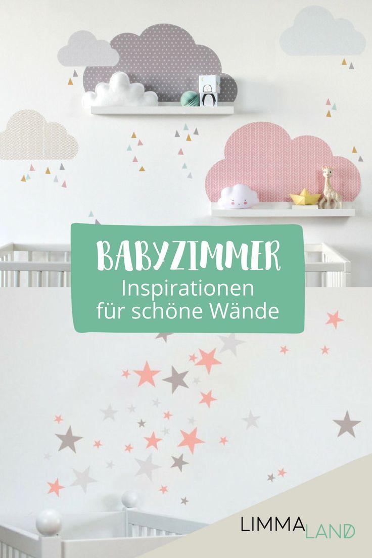 Wie gestalte ich schöne Wände im Babyzimmer? Ganz einfach: mit unseren Wandtattoos. Wir haben eine große Auswahl und es sollte für jeden etwas dab…