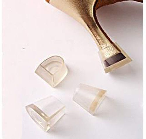 High Heel Stiletto Heel Stoppers Protectors wedding mates, solemates Clear