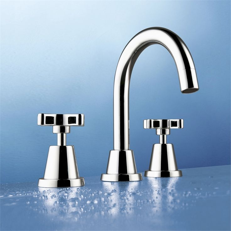 Caroma Midas Basin Set - cheapest Caroma tap set at bunnings $160 - these are nice, feels like it conforms to your fingers when turning