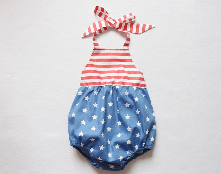 4th of July Baby Romper Baby Girl Romper Bubble Romper Baby Shower Gift Birthday Coming Home Outfit Newborn Toddler Romper Playsuit Sunsuit by lonymaids on Etsy https://www.etsy.com/listing/468103356/4th-of-july-baby-romper-baby-girl-romper