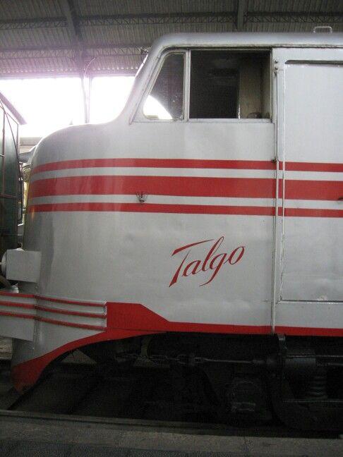 Cabina tren Talgo. Museo del ferrocarril. Madrid