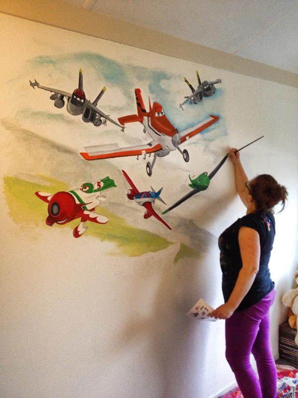 8 best Muurschilderingen kinderkamers images on Pinterest | Luigi ...