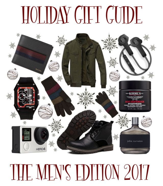 """Holiday Gift Guide: The Men's Edition"" by latoyacl ❤ liked on Polyvore featuring B&O Play, Billabong, Topman, John Varvatos, Kiehl's, Jorg Gray, Paul Smith, Parlane, Shishi and men's fashion"