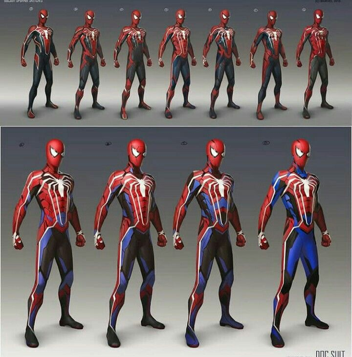 Spiderman advanced suit