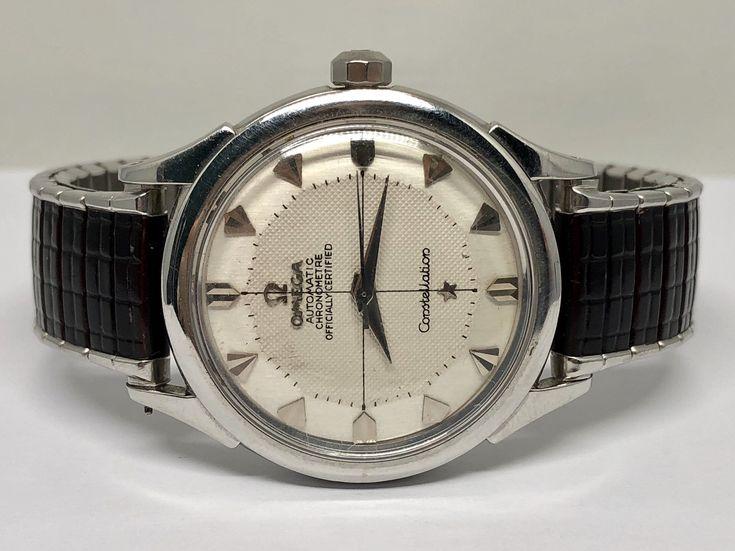 Vintage Omega Constellation Automatic Certified Chronometre c.1950's Men's