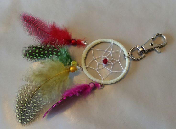 Bijou de sac attrape-rêves multicolor