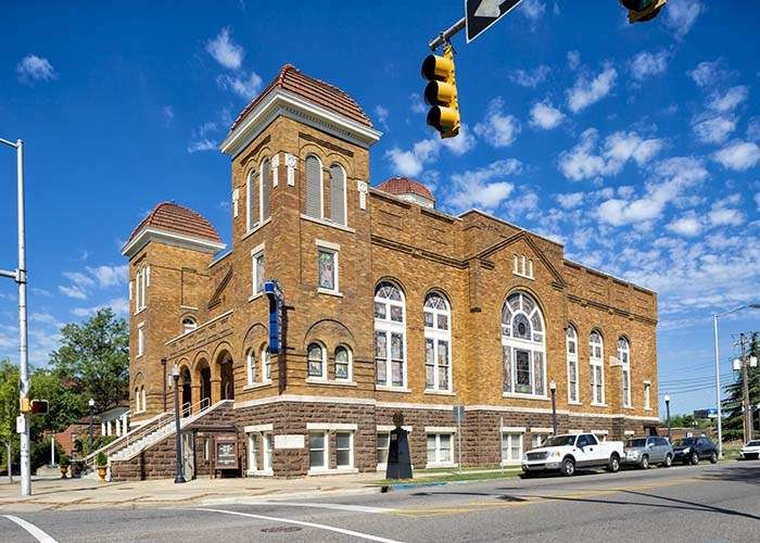 The 16th Street Baptist Church, site of the infamous bombing, is now part of Birmingham's Civil Rights National Monument. CONTRIBUTED BY ALABAMA TOURISM DEPARTMENT
