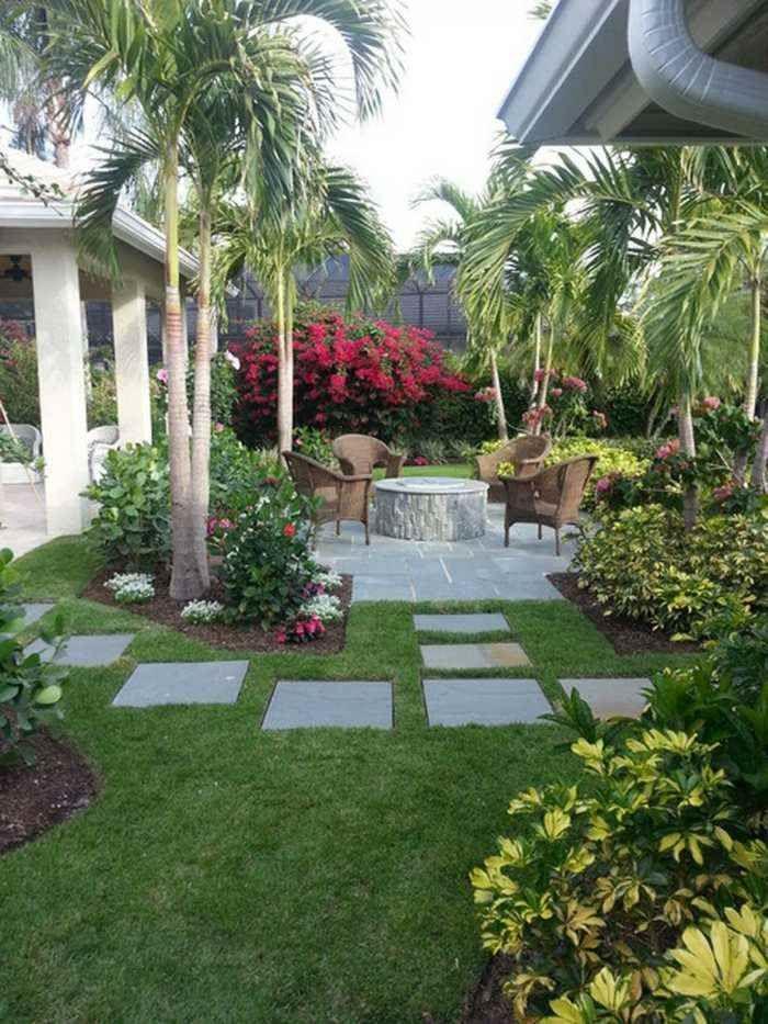 Aménagement jardin avec une touche d\u0027exotisme- 50 photos
