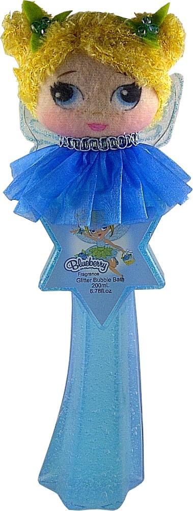 Blueberry Glitter Friends Bubble Bath the fragrance is like berries!
