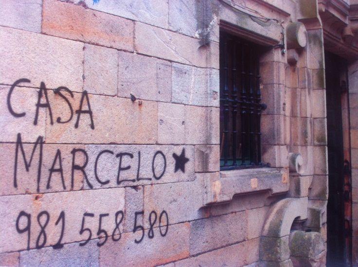 Casa Marcelo is a wonderful restaurant, located in the center of Santiago de Compostela.
