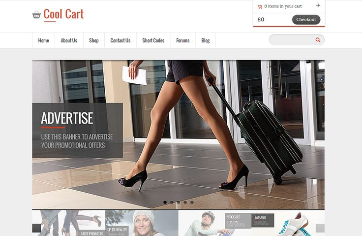 Templatic Nulled CoolCart theme