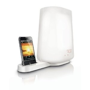 For those that hate to wake up to noise or music in the morning.  For $149, you can wake up with light.Hf3490 Wake Up, Ipods Dock, Alarm Clocks, Trav'Lin Lights, Gift Ideas, Wakeup Lights, Wake Up Lights, Philip Wakeup, 5 Years