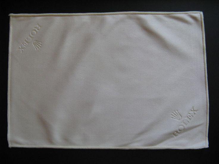 Original Rolex polishing cloth with Rolex logo...