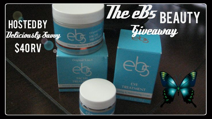 eB5 Beauty Giveaway  Expires August 03