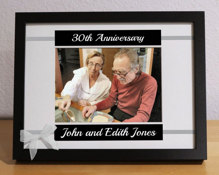 30th Anniversary Gift, 30th Wedding Anniversary, 30th Anniversary Gift for Parents, Custom Picture Frame, Personalized, Anniversary Party by KimKimDesigns on Etsy https://www.etsy.com/listing/251031375/30th-anniversary-gift-30th-wedding
