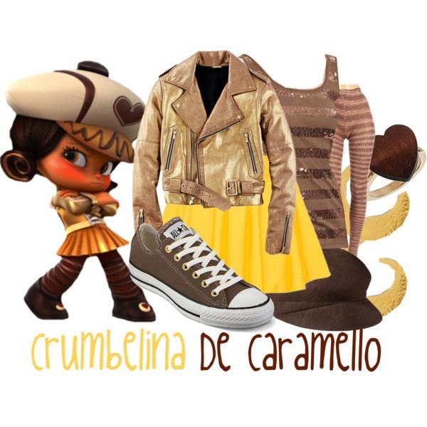 Disneybound - Crumbelina De Caramello outfit (Wreck-It Ralph)