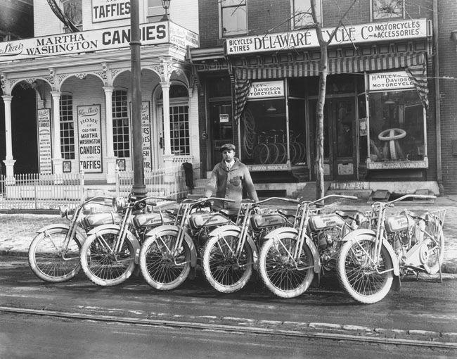 Visual Timeline History of Harley Davidson Motorcycles