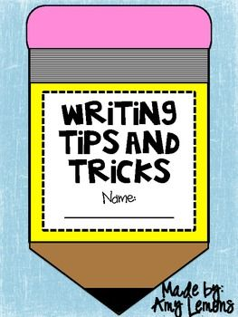 This craftivity booklet will be a great addition to your Writer's Worship lessons!  As you are introducing Writer's Workshop, have your students co...: Writers Notebook, Craftiv Booklet, Introducing Writers, Creative Writing, Writing Tips, Tips And Tricks, Free Writing, Writers Workshop, 2Nd Grade