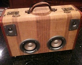 travel tunes suitcase speaker available on etsy