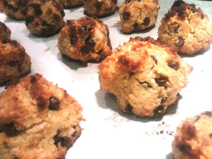 Cookies, Cookies Paleo, Paleo Cookies, Chocolate Chip Cookies, Coconut ...
