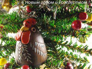 Новогодняя открытка   Ярмарка Мастеров - ручная работа, handmade