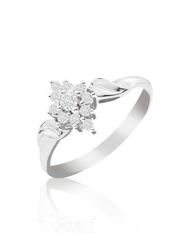 9ct & Diamond Ring