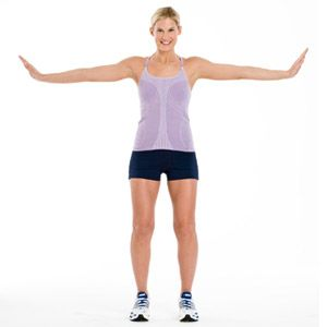 Arm exercises from Fitness Magazine