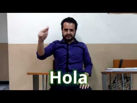 LSM - 04 - Saludos y otras expresiones en Lengua de Señas Mexicana - YouTube