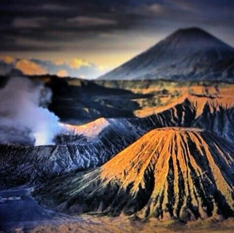 Volcanic region in Indonesia - Visit http://asiaexpatguides.com and make the most of your experience in Asia! Like our FB page https://www.facebook.com/pages/Asia-Expat-Guides/162063957304747 and Follow our Twitter https://twitter.com/AsiaExpatGuides for more #ExpatTips and inspiration!