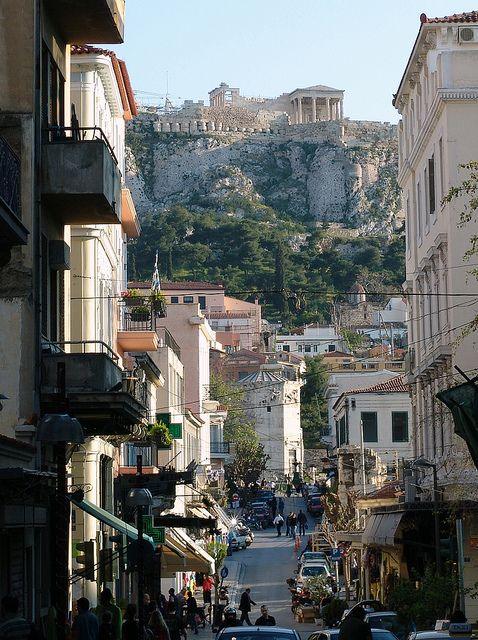 """Athens, Greece  """"We just opened our rooms door and we could see the Acropolis. At night I could not believe we were there. Magic. Nicest people."""""""