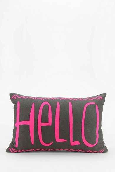 Hello Pillow