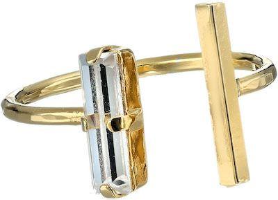 Swarovski Open Gold Ring